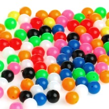 100Pcs Round Fishing Rig Beads Sea Fishing Lure Floating Float Tackles 6mm 8mm