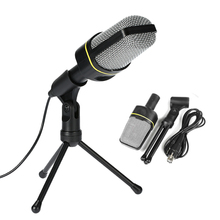 Desktop Microphone with Tripod Professional Podcast Studio Microphone For Laptop/PC For Recording Vocals & Acoustic Instruments
