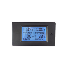 Free shipping !!! LCD display DC multifunction meter Wh , kWh ,ampere ,voltage,power,Energy meter, DC multifunction panel meter
