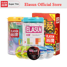 Buy ELASUN 64PCS Multiple Types Ultra Thin Condoms Ice Fire Dotted Pleasure Natural Latex Rubber Condom Men