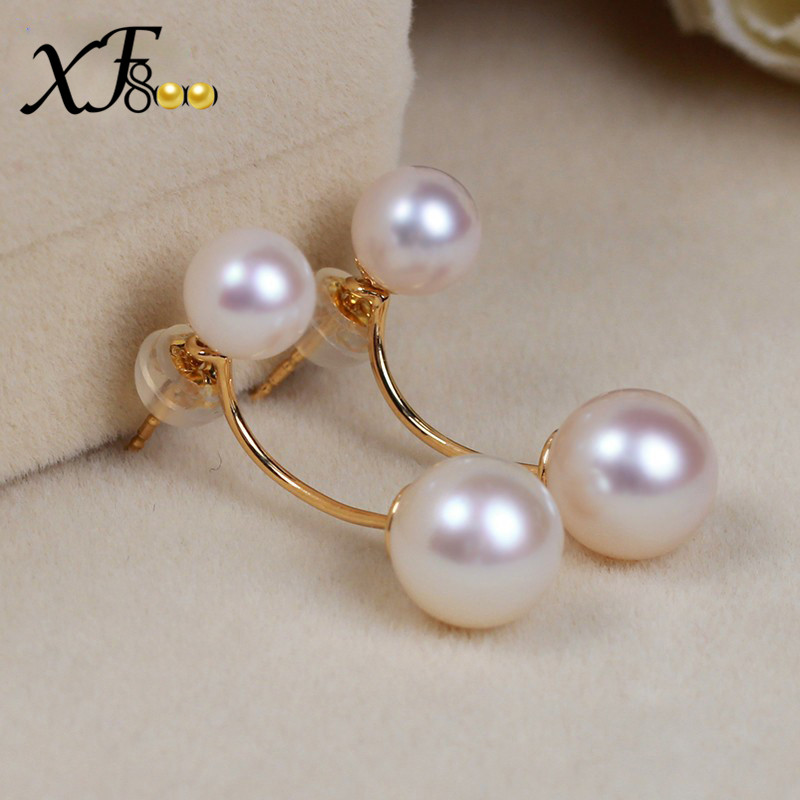 XF800-Natural-AKOYA-SEA-Pearl-Earrings-8-5-9mm-Big-Size-Double-Side-Earrings-Real-18K (3)