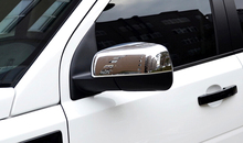 12-15 For Land Rover Freelander 2 LR2 2012 2013 2014 2015 ABS Chrome Side Mirror Rearview Cover Trim(China)