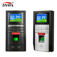 Fingerprint Password Key Lock Access Control Machine Biometric electronic door lock RFID reader scanner system(China)