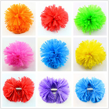 New cheerleading pompoms cheering pom poms Apply to sports match and vocal concert Color can free combination Performing LL004(China)