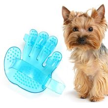 Hand Shape Pet Dog Cat Bath Brush Massage Rakes Brush Comb Cleaner Massager