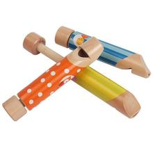 BOHS Wooden Push and Pull Fipple , Toy Musical Instruments, Kids Children Gift Set(China)