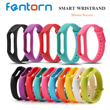 Buy 10pcs / lot Multi color Silicone Strap mi band 2 Wristband Bracelet band miband 2 Strap Wholesale 10 colors for $8.68 in AliExpress store