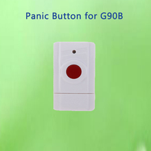 Wireless Panic Button Emergency Button Help SOS Button work for WiFi GSM alarm system G90B for Elderly(China)