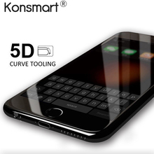 Buy 5D Full Cover Tempered Glass Protector iPhone 8 7 6 6s plus Screen Protective Glass iPhone 7 6 6s 8 Tempered Glass Protector for $3.74 in AliExpress store