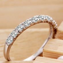 MEGREZEN Cute Jewelry Silver Party Rings Women Famous Brand Unique Products White Gold Color Ring Vintage Gift for Girls YR029
