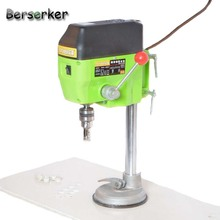 Berserker High Speed Mini Bench Drill press power tool with glass tile sucking disc 220V 680W 10mm Chuck BG-5166E Free Shipping(China)