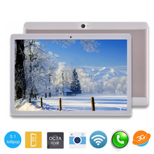 ZFINER 2017 Newest 10 inch Tablet pc 4GB RAM 64GB ROM Octa Core 8 Cores Dual Cameras 5.0MP 1280*800 IPS GPS WiFi Tablets+Gifts