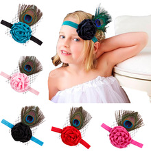 new feather hair speed selling hot head band(China)