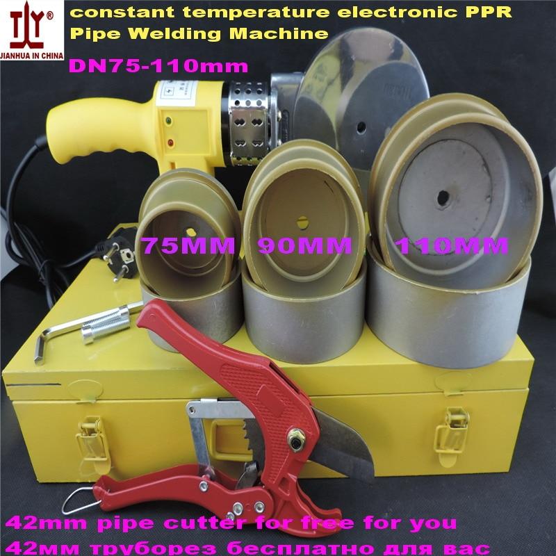 Constant Temperature Electronic DN 75-110mm 220V/110V AC 1200W PPR Welding Machine, PPR Pipe Welding, Plastic Pipe Machine<br><br>Aliexpress