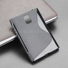 8 Color S-Line Anti Skidding Gel TPU Slim Soft Case Back Cover For Blackberry Passport Q30 Mobile Phone Rubber silicone Cases