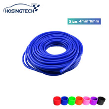 HOSINGTECH- ID:4mm OD:8mm New Silicone Vacuum Hose /Tube Silicone Pipe 50M