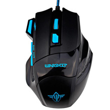 New OEM USB 2.0 Gaming Wired Mouse Speed with Free Driver Perfect Lighting System Comfortable Hand Feeling Mice QTSB01
