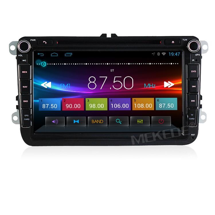 Wholesale! HD 1024*600 2din 8inch Car DVD GPS player for VW/Volkswagen/Passat/POLO/GOLF/Skoda/Seat/Leon with Ipod FM RDS Maps