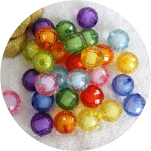 100/50/30Pcs/Lot 8/10/12mm Cheap New Round Acrylic Resin Beads Candy Color Acrylic Spacer Beads Jewelry Accessoires Wholesale