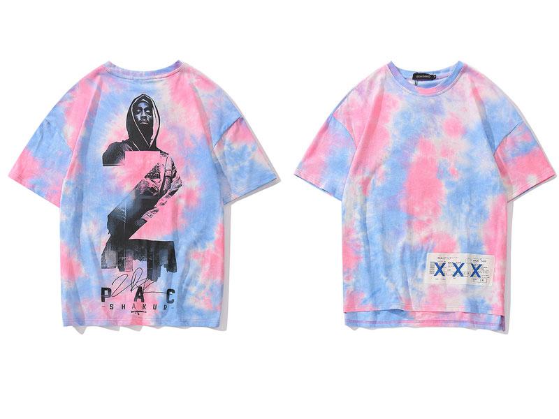 2Pac Tie Dye Tshirts 1