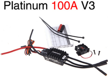 Original Hobbywing Platinum 100A V3 High Performance ESC for Align TREX 550 600 700 RC Helicopter Fixed Wing ESC