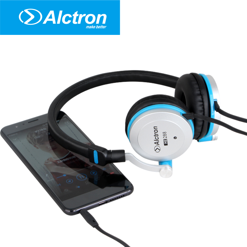 Alctron HE288 professional on ear headphone used to monitoring, listening to music<br>