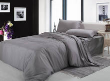 Hotel gray bedspreads,cotton hotel bedding sets,Fitted/ flat hotel bedlinen,king size hotel bedding sets,gray color