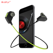 RAXFLY Universal Wireless Bluetooth Magnetic In-ear Earphone Hifi Stereo Microphone Headset For iPhone Samsung Phone Earbud