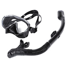 Safe Professional Scuba Diving Silicone Mask Snorkel Durable Wear Resistant Diving Mask Set Soft Comfortable Swimming Equipement
