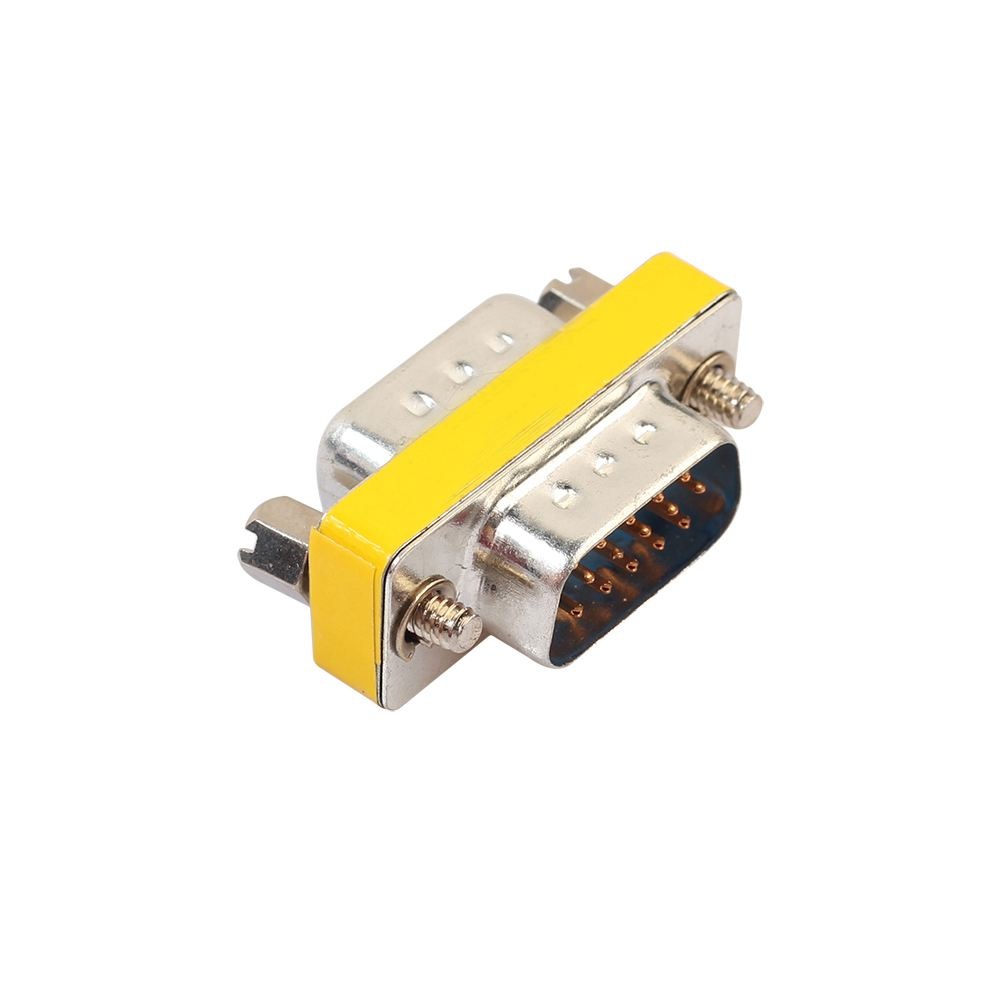 5Pcs  DB15 VGA Male to Male Or Female to Female Gender Changer Adapter Converter