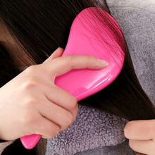 Tangle Hair Brush Professional Hairbrush Paddle Detangler Hair Brushes Massage Comb Care Styling Women Anti-Static HJL20(China)