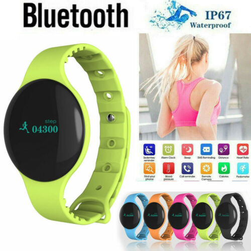 Latest Bluetooth 4.0 Smart Bracelet Sport Watch Step <font><