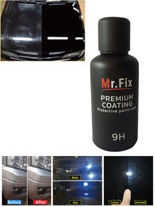 9H Car Oxidation Liquid Ceramic Coat Super Hydrophobic Glass Coating Set