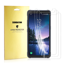 For Galaxy S8 Active Nano Screen Protector Soft Tough TPU Protective Film Full Cover 3D Edge Curved for Samsung S8 Active(China)