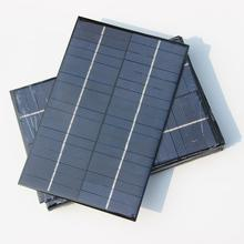 Wholesale 4.2W 18V Small Solar Panel/Polycrystalline Solar Cells DIY Solar Module For Solar Power System 12pcs/lot FreeShipping