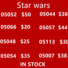Pomotion Star War 05007 05052 05066 05048 05054 05057 05044 05113 05052 Building Blocks Bricks Kit Educational Toys for Kids(China)