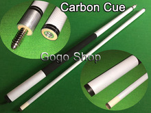 Carbon Cue 1/2 Split  Center Joint Hight Quality Billiard Cues Stick Pool 13MMNine-ball Ball Arm Accessories Free Shipping