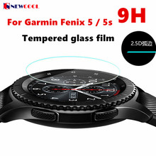 2pc/lot 9H Tempered Glass Screen Protector Guard Film for Garmin Fenix 5 Fenix5 F5 5s Chronos Watch Protective Film