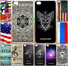 Best selling painted National Flag eyes magic PC Print moblie Phone Case For Xiaomi 4c mi4c mi 4c cases back cover skin shell(China)