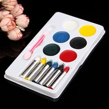 New Colorful Face Body Paint Sticks Crayons Set/Kit Oil Painting Pigment Halloween Makeup Fancy Dress Beauty Makeup Tools