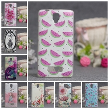 for Lenovo A2010 Case New Back Case Mix Color TPU Soft Case For Lenovo A 2010 Cover Painting GEL Silicone Phone Covers 3D Relief(China)