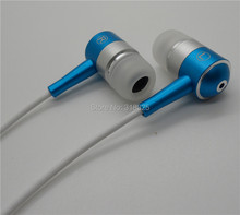 3.5MM jack Metal Earphone earbuds Stereo Earphones in Ear earplugs for iphone IPad Lenovo HTC Nokia MP3 PC(China)