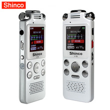 Shinco Recorder Mini Hidden Digital Audio Sound Voice Recorder Pen Professional Dictaphone MP3 Player 8GB Espia Gravador(China)