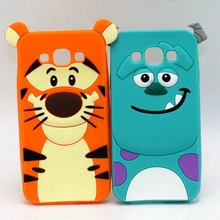 For Samsung Galaxy A5 A7 Phone Cases Cartoon Sulley Alice Cat Tiger Soft Silicone Cover For Samaung J1 ACE J1 mini 2016 J3 J5 J7(China)