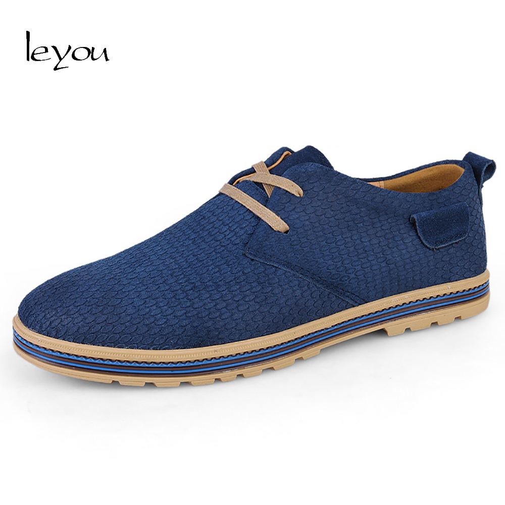 LeYou Geniune Leather Shoes Men Autumn Winter Shoe...