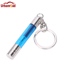 Free shipping retail auto car anti-static electrostatic eliminator mini cute keychain key chain ring(China)
