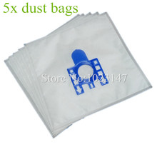5 pieces Vacuum Cleaner HEPA Dust Bags Filter Dust Bag Replacement for Hoover H60 SENSORY TFB2223  Amigo 1500 T2001 TD3600-3699
