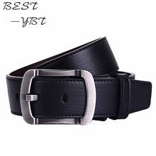 The new 2016 leisure belt Men's fashion needle red belt buckle Leather belt