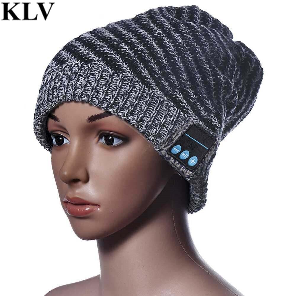 Bluetooth Beanie Knitted Winter Warm Hat Headset Hands Free Music Mp3 Speaker Mic Cap Magic Training Hats Boy Girl Adults Nov23Îäåæäà è àêñåññóàðû<br><br><br>Aliexpress