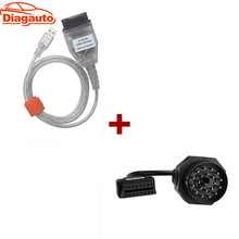 For BMW INPA/Ediabas OBD & ADS Interface with 20pin OBD1 to OBD2 Female Adapter Cable